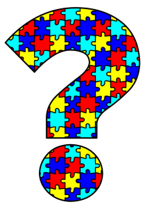 autism awareness question mark