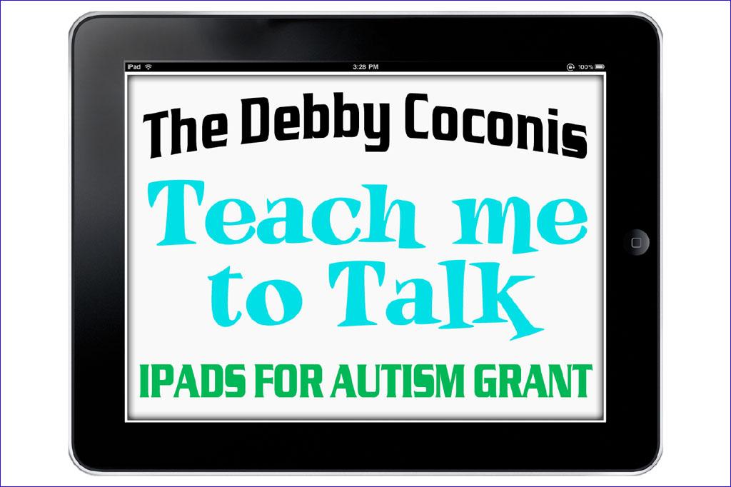 Debbie Coconis iPad Grant logo